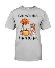 The Most Wonderful Time - Yorkie Classic T-Shirt front