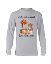 The Most Wonderful Time - Yorkie Long Sleeve Tee thumbnail