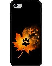 Paw Autumn Leaf  Phone Case thumbnail
