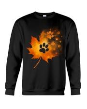 Paw Autumn Leaf  Crewneck Sweatshirt thumbnail