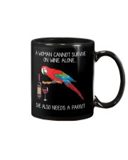 Wine and Parrot Mug tile
