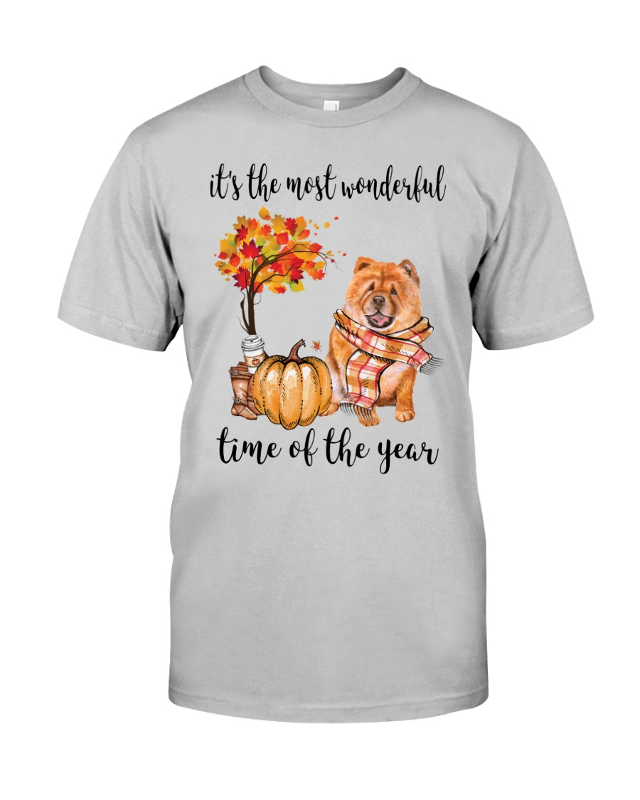 The Most Wonderful Time - Chow Chow Classic T-Shirt