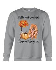 The Most Wonderful Time - Chow Chow Crewneck Sweatshirt thumbnail