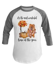 The Most Wonderful Time - Chow Chow Baseball Tee thumbnail