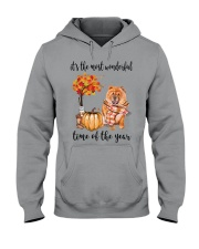 The Most Wonderful Time - Chow Chow Hooded Sweatshirt thumbnail