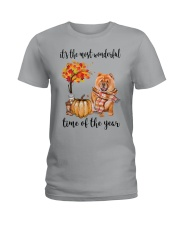 The Most Wonderful Time - Chow Chow Ladies T-Shirt thumbnail