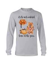 The Most Wonderful Time - Chow Chow Long Sleeve Tee thumbnail