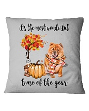 The Most Wonderful Time - Chow Chow Square Pillowcase thumbnail
