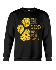 God Loves Us and Want Us To Be Happy 2 Crewneck Sweatshirt tile