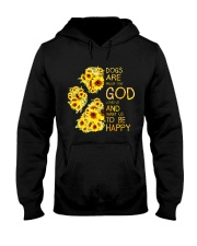God Loves Us and Want Us To Be Happy 2 Hooded Sweatshirt thumbnail