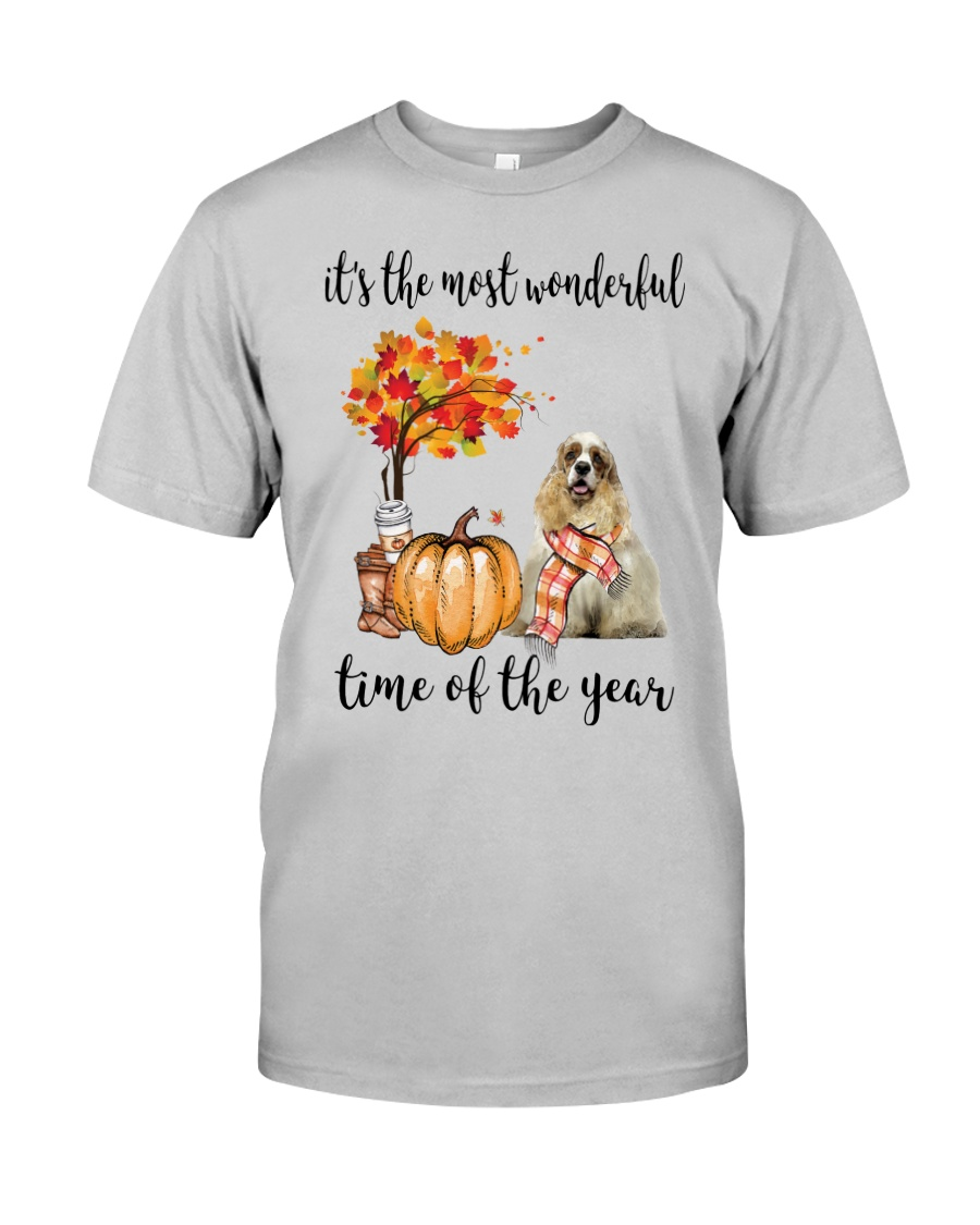 The Most Wonderful Time - American Cocker Spaniel Classic T-Shirt