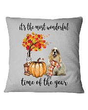 The Most Wonderful Time - American Cocker Spaniel Square Pillowcase thumbnail