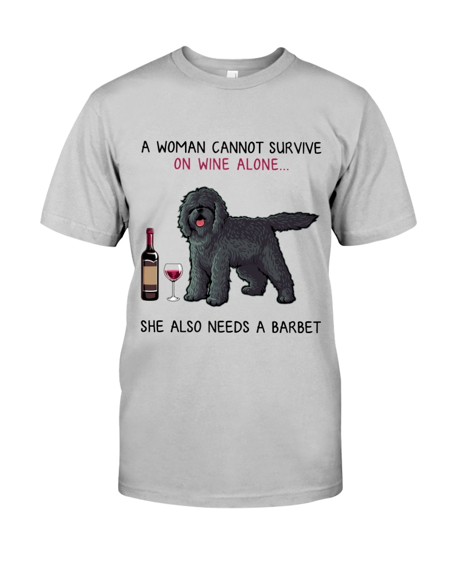 Wine and Barbet 2 Classic T-Shirt