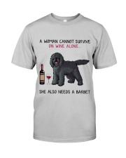Wine and Barbet 2 Classic T-Shirt front