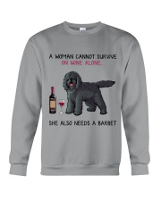 Wine and Barbet 2 Crewneck Sweatshirt thumbnail
