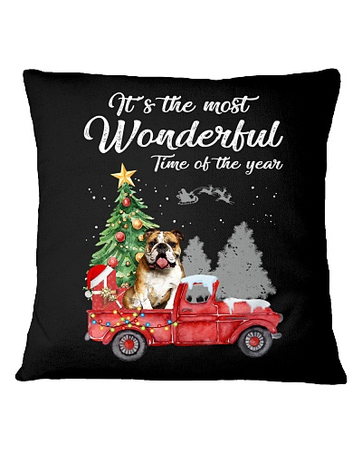 Wonderful Christmas with Truck - Bulldog