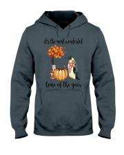 The Most Wonderful Time - Penguin Hooded Sweatshirt thumbnail