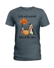 The Most Wonderful Time - Penguin Ladies T-Shirt thumbnail
