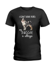 My Aussie is Allergic Ladies T-Shirt thumbnail
