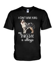 My Aussie is Allergic V-Neck T-Shirt thumbnail