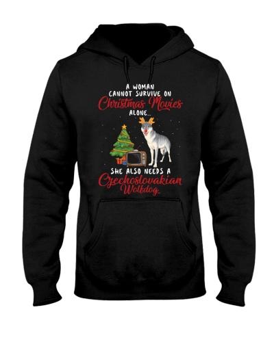 Christmas Movies and Czechoslovakian Wolfdog