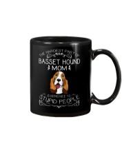 The Hardest Part of Basset Hound Mom Mug thumbnail