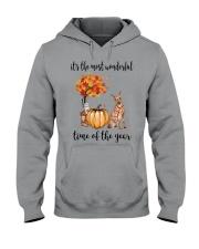 The Most Wonderful Time - Miniature Pinscher Hooded Sweatshirt thumbnail