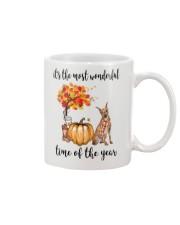 The Most Wonderful Time - Miniature Pinscher Mug thumbnail
