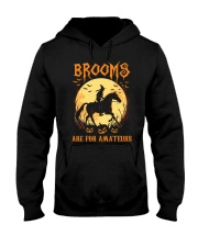 Horse Brooms Are For Amateurs Hooded Sweatshirt thumbnail