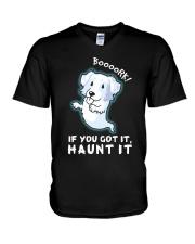 Aussie - Boooork 2 V-Neck T-Shirt thumbnail