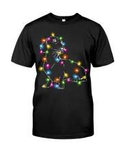 Christmas Light Dachshund Classic T-Shirt front