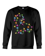Christmas Light Dachshund Crewneck Sweatshirt thumbnail