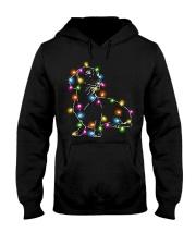 Christmas Light Dachshund Hooded Sweatshirt thumbnail