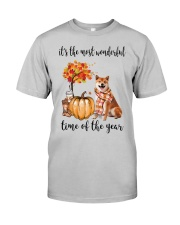 The Most Wonderful Time - Shiba Inu Classic T-Shirt front