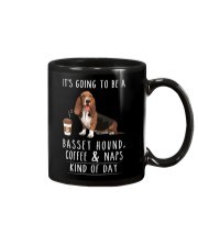 Basset Hound Coffee and Naps Mug thumbnail