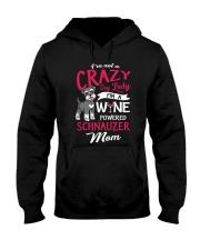 Crazy Lady Schnauzer Hooded Sweatshirt thumbnail