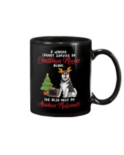 Christmas Movies and Alaskan Malamute Mug thumbnail