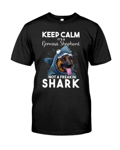 It's A German Shepherd Not A Freakin Shark