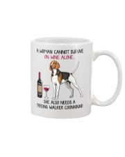 Wine and Treeing Walker Coonhound 2 Mug thumbnail