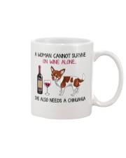 Wine and Chihuahua 2 Mug thumbnail