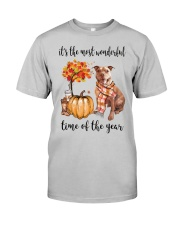 The Most Wonderful Time - Pit Bull Classic T-Shirt front