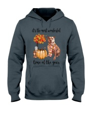 The Most Wonderful Time - Pit Bull Hooded Sweatshirt thumbnail