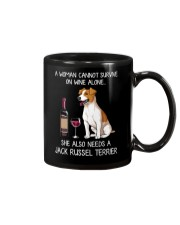Wine and Jack Russell Terrier 3 Mug thumbnail