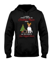 Christmas Movies and Jack Russell Terrier Hooded Sweatshirt tile