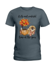 The Most Wonderful Time - Pekingese Ladies T-Shirt thumbnail