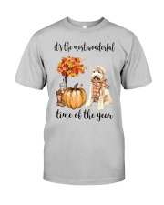 The Most Wonderful Time - Goldendoodle Classic T-Shirt front