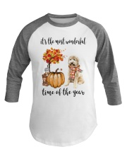 The Most Wonderful Time - Goldendoodle Baseball Tee thumbnail