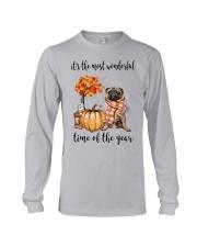 The Most Wonderful Time - Pug Long Sleeve Tee thumbnail