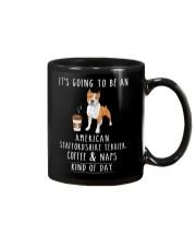 American Staffordshire Terrier Coffee and Naps Mug thumbnail
