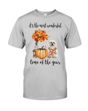The Most Wonderful Time - Maltese Classic T-Shirt front